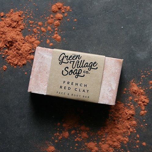 French Red Clay Soap