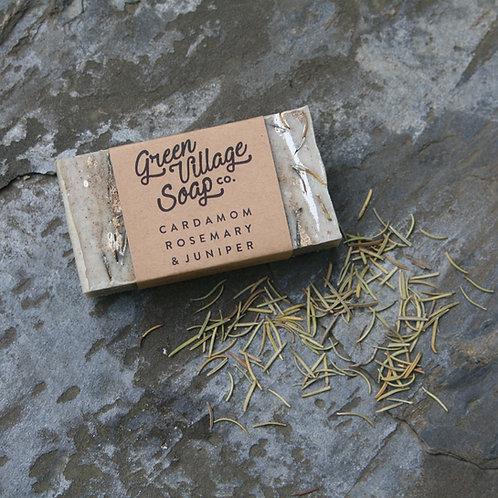 Cardamom, Rosemary, & Juniper Soap