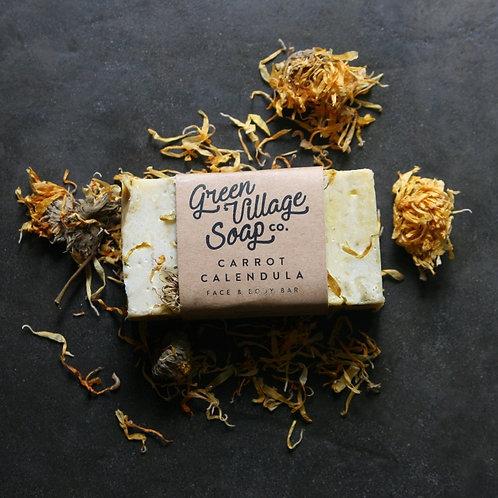 Carrot Calendula Soap