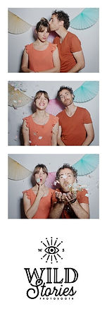 Wild Stories photobooth strip