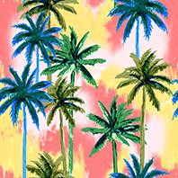 Fond Palm Trees