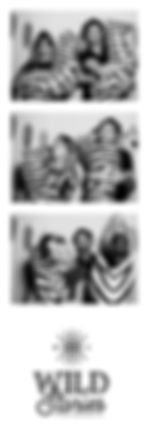 Wild Stories photobooth strip zèbres