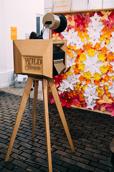 Fond paper design Festival Andy