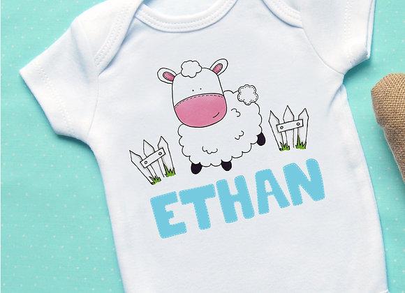 Cute Sheep + Name