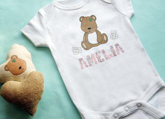 Cute Bear + Name