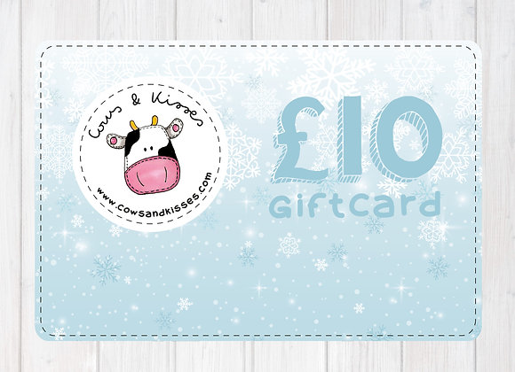 GIFT CARDS: £10, £15, £20, £25, £35