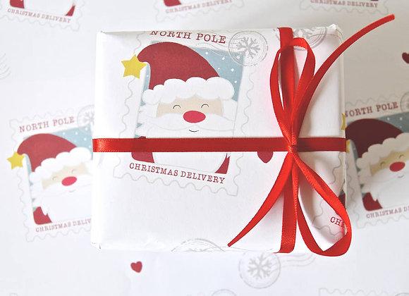 Christmas Post Wrapping Set