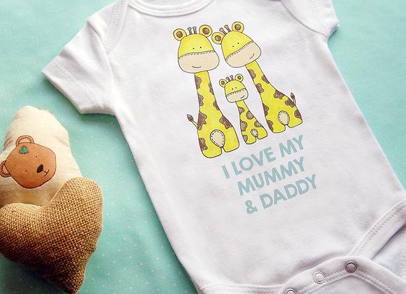 I Love My... Giraffe Vest
