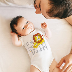I love my daddy baby clothing, gift for new baby