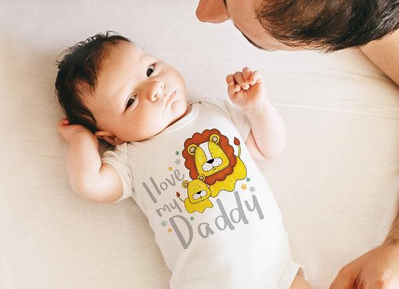 I Love My Daddy Vest