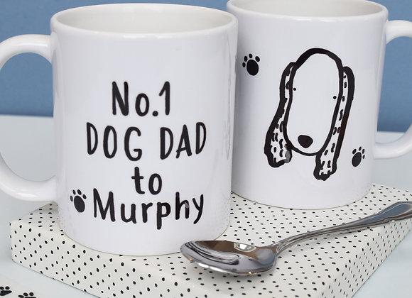 No.1 Dog Dad to ... Mug