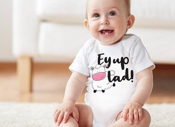 Ey Up Yorkshire Baby Vest