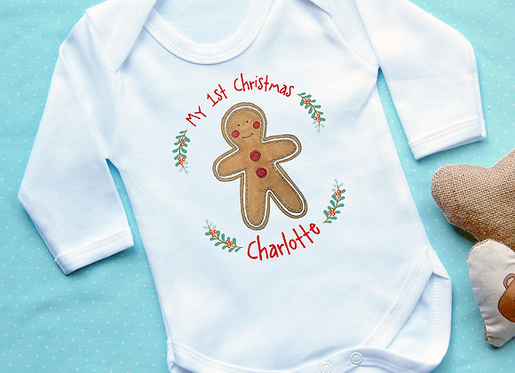 Personalised 'My 1st Christmas' Gingerbread
