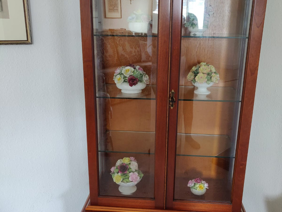 "Bradley Collectors Cabinet 63""h x 30""w x 14""d RRP £1768 NOW HALF PRICE £884"