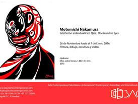 Motomichi Nakamura 'Cien Ojos' Exhibition - Bogotá, Colombia