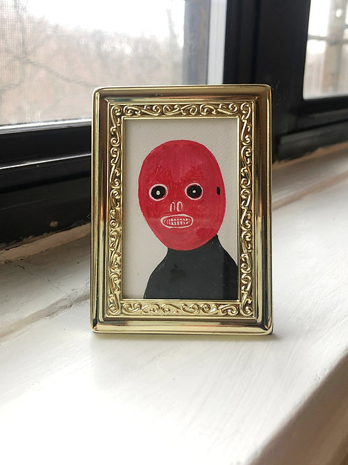Tiny Drawing - Under the Mask