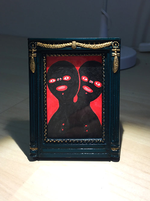 Tiny Drawing - Evil Twin SOLD