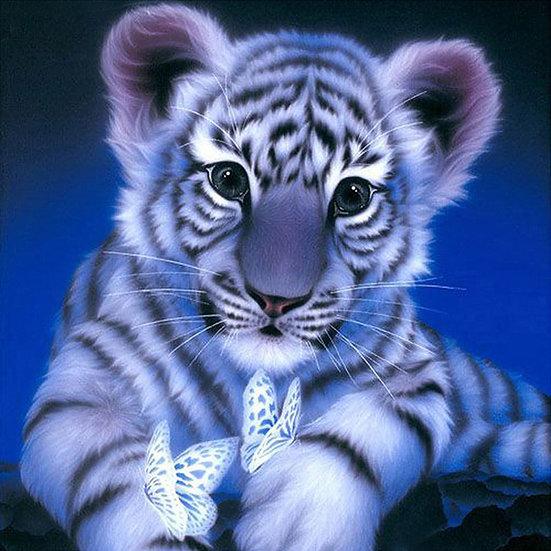 5D DIY Diamond Painting Tiger