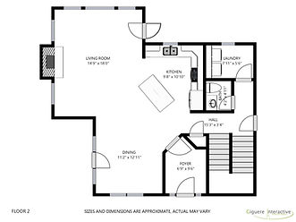 Floor plans - Second floor
