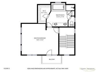Floor plans - Third floor