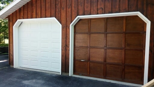 Before/After- Residential Garage Door