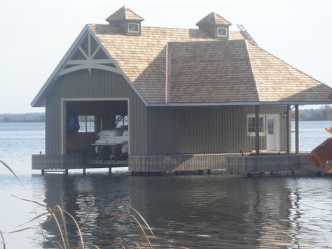Boat House Garage Door