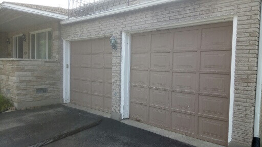 Before- Residential Garage Door