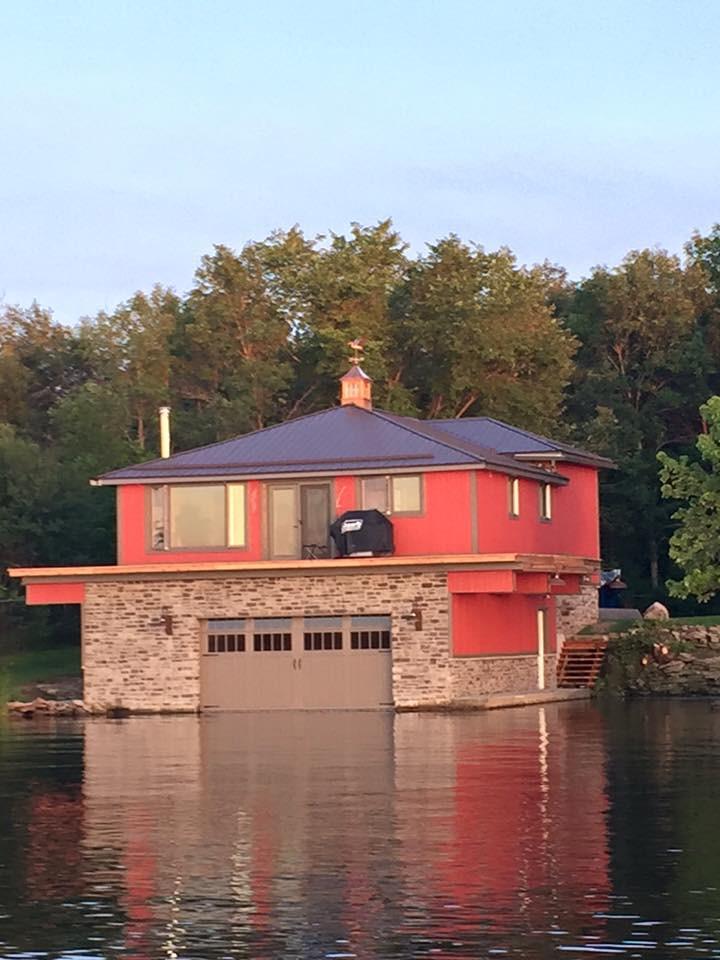 Boat House Garage Door