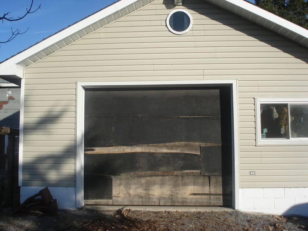 Before- Residential Garage Door