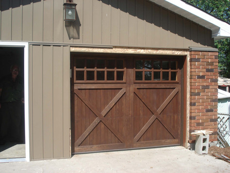 Ranch Collection Garage Door