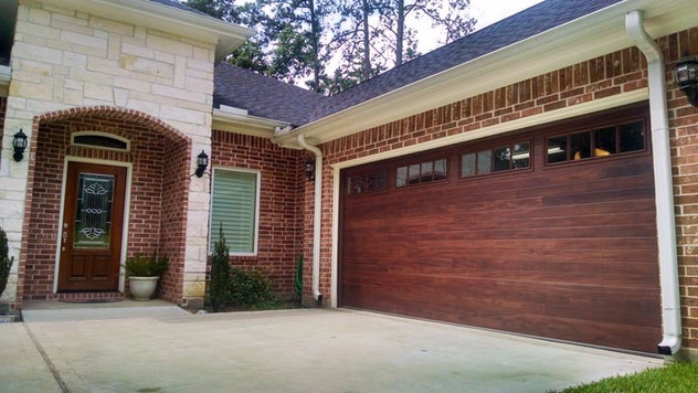 Garage Door Options- Plank Doors