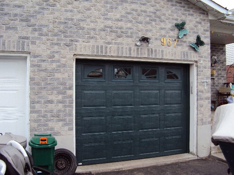 After- Residential Garage Door
