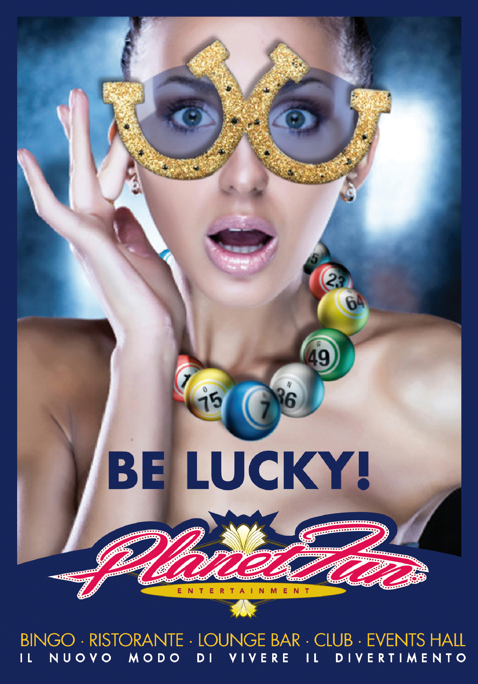 BE LUCKY!