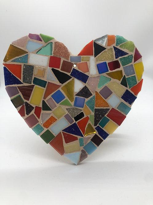 Multicoloured heart