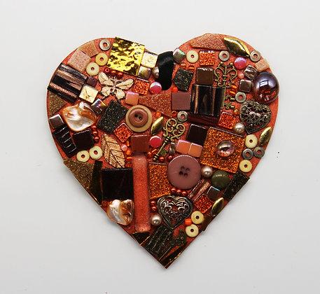 Warmth mosaic heart