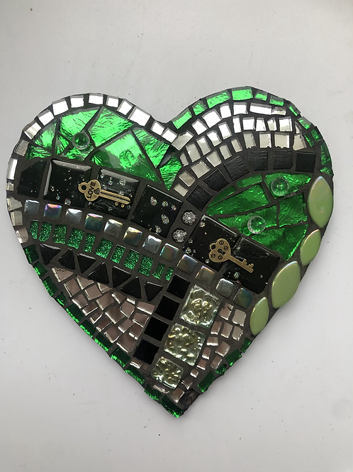 Emerald key to her heart