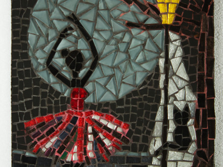 Ballerina Moon Mosaic