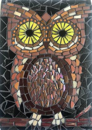 Mosaic Owl