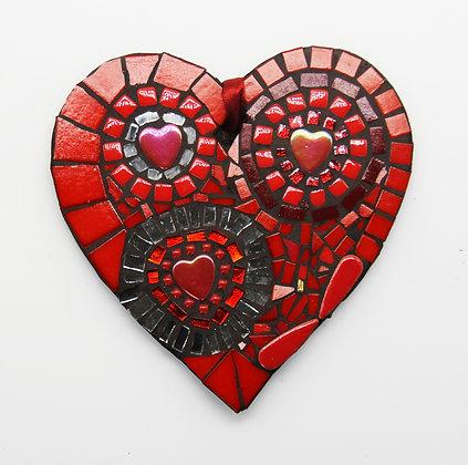 Three circles heart