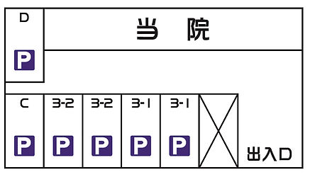 広い駐車場6台