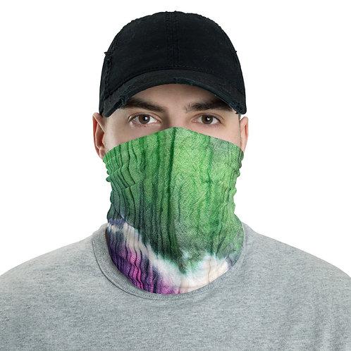Neck Gaiter - Tie Dye Blue/Green/Magenta