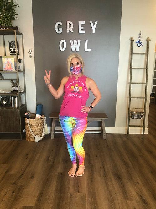 Yoga Leggings - Tie Dye Rainbow