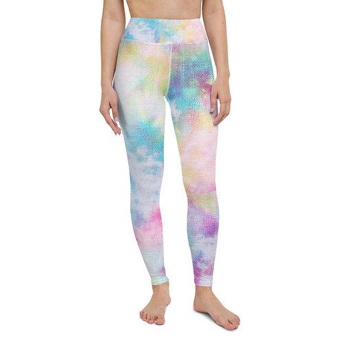 Yoga Leggings - Color Splash