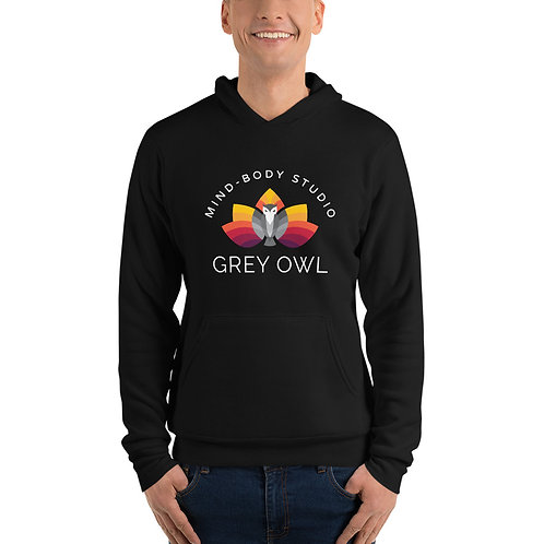 Grey Owl Color Logo - Unisex hoodie
