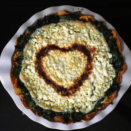 Recipe of the Month: Sweet Potato Quiche