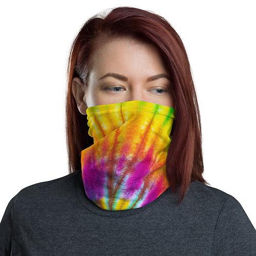 Neck Gaiter - Tie Dye Rainbow