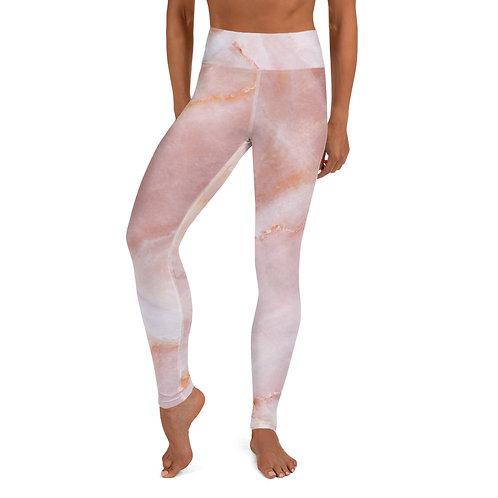 Yoga Leggings - Rose Quartz