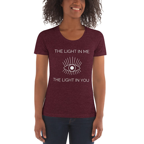 The Light in Me Sees - Women's Crew Neck T-shirt