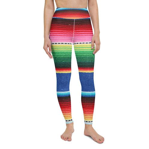 Yoga Leggings - Mexican Blanket