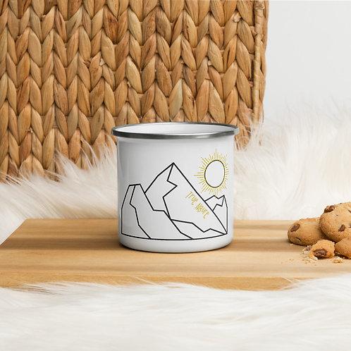 Enamel Mug - True Nature Mountain Mug